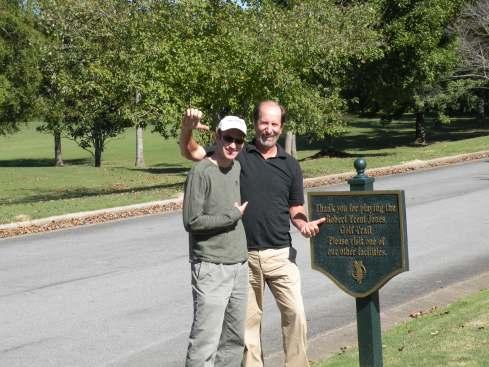 Joel and dad, Anniston AL 2009
