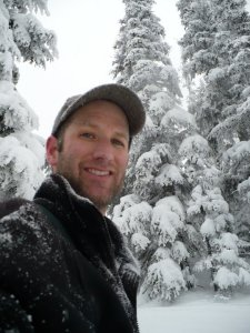 Joel- photo of self- snow