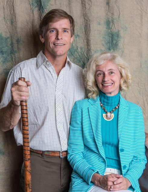 Our engagement photo taken at the Appalachian Trail Museum Banquet.