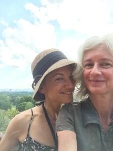 Sarah and me.